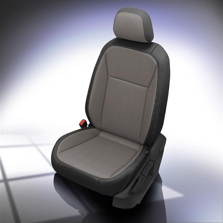 Surprising 2018 2019 Volkswagen Tiguan S Katzkin Leather Interior 2 Row Creativecarmelina Interior Chair Design Creativecarmelinacom