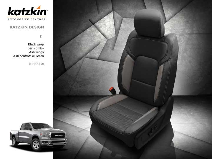 Super Dodge Ram Crew Cab Katzkin Leather Seat Upholstery 2019 Bench Or Bucket Front Manual Drivers Seat Solid Rear Lamtechconsult Wood Chair Design Ideas Lamtechconsultcom