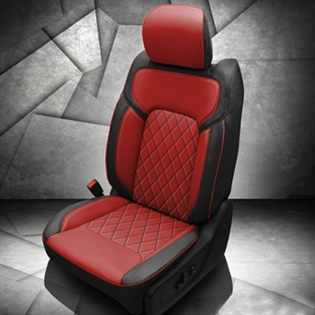 Dodge Ram Crew Cab Katzkin Leather Seat Upholstery, 2019 (bench or bucket front, manual driver's seat, solid rear)