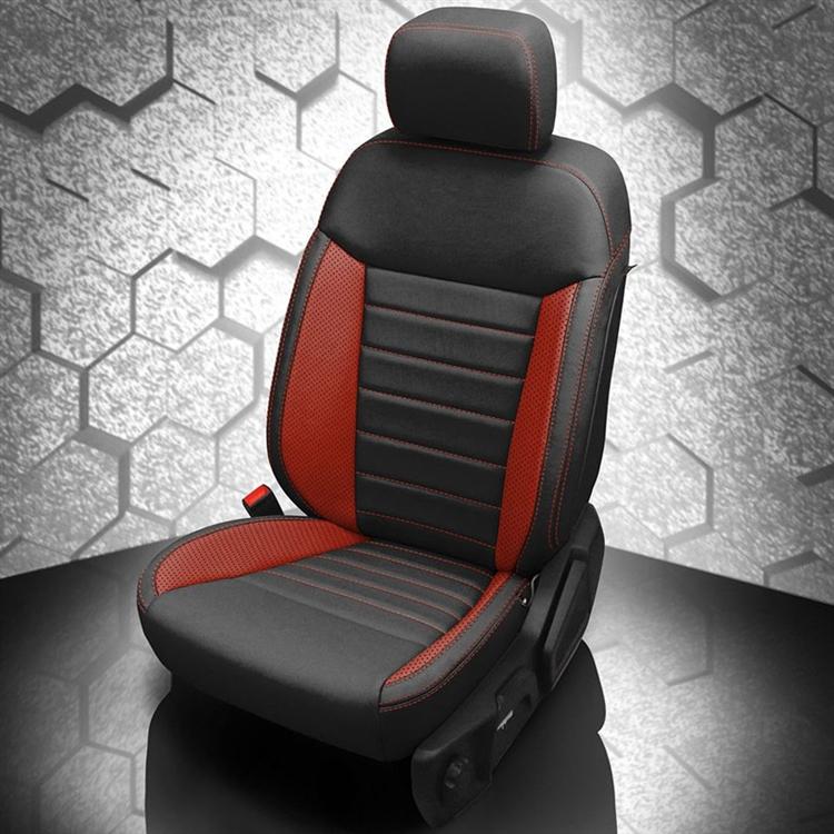 Ford Ranger Xlt Crew Cab Katzkin Leather Seat Upholstery 2019
