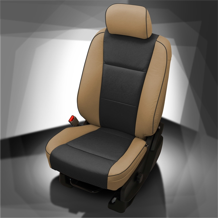 Cool 2019 Ford F150 Crew Cab Lariat Katzkin Leather Interior No Center Stripe 2 Row Ocoug Best Dining Table And Chair Ideas Images Ocougorg