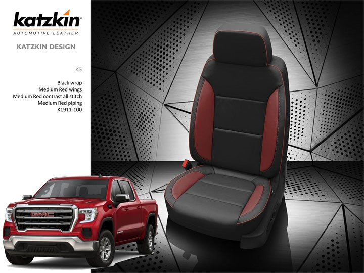 katzkin leather interior s2gm05 fits 2019 t1 1500 double cab
