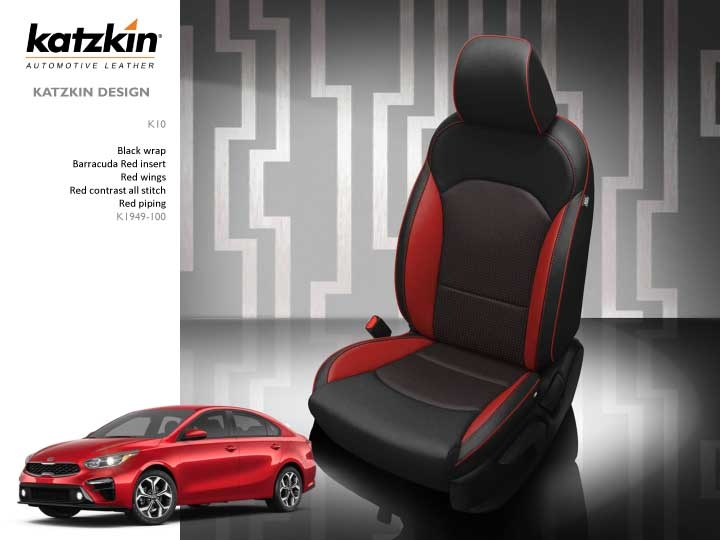 Tremendous 2019 2020 Kia Forte Sedan Fe Katzkin Leather Interior 2 Row Caraccident5 Cool Chair Designs And Ideas Caraccident5Info