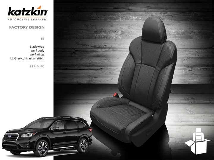 Phenomenal Subaru Ascent Katzkin Leather Seat Upholstery 7 Passenger 2019 2020 Shopsar Com Caraccident5 Cool Chair Designs And Ideas Caraccident5Info