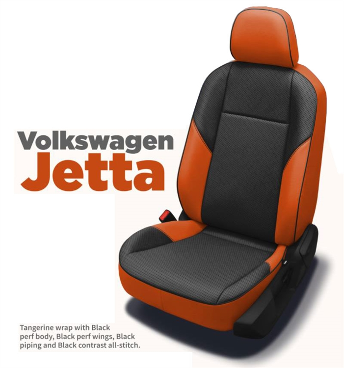 Prime 2019 Volkswagen Jetta 1 4T S Se Sedan Katzkin Leather Interior 2 Row Pabps2019 Chair Design Images Pabps2019Com