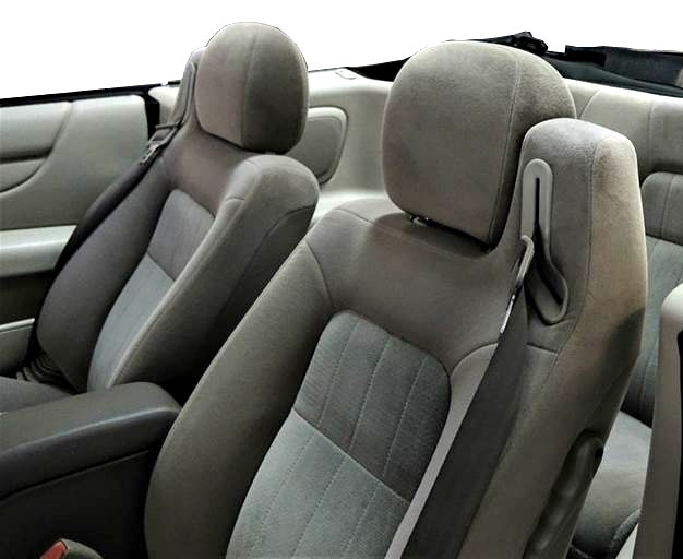 chrysler sebring convertible katzkin leather seat upholstery 2001 2002 2003 2004 2005 2006 shopsar com 2001 2006 chrysler sebring convertible katzkin leather interior 2 row
