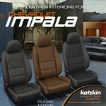 Chevrolet Impala Katzkin Leather Seat Upholstery Kit