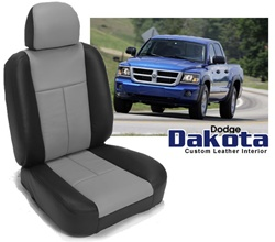 Dodge Dakota Katzkin Leather Seat Upholstery Kit Shopsar Com