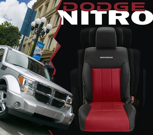 Dodge Nitro Katzkin Leather Seat Upholstery Kit | ShopSAR.com