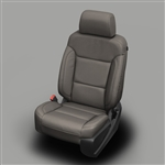 GMC Sierra Katzkin Leather Seat Upholstery Kit