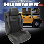 Hummer H2 Katzkin Leather Seat Upholstery Kit