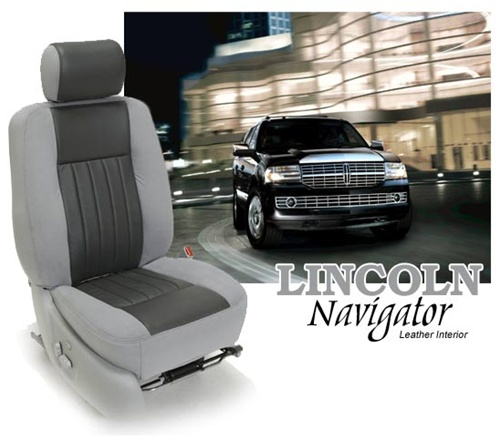 Lincoln navigator katzkin leather seat upholstery kit shopsar lincoln navigator custom leather interior solutioingenieria Image collections