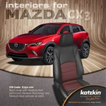 Mazda CX-3 Katzkin Leather Seat Upholstery Kit