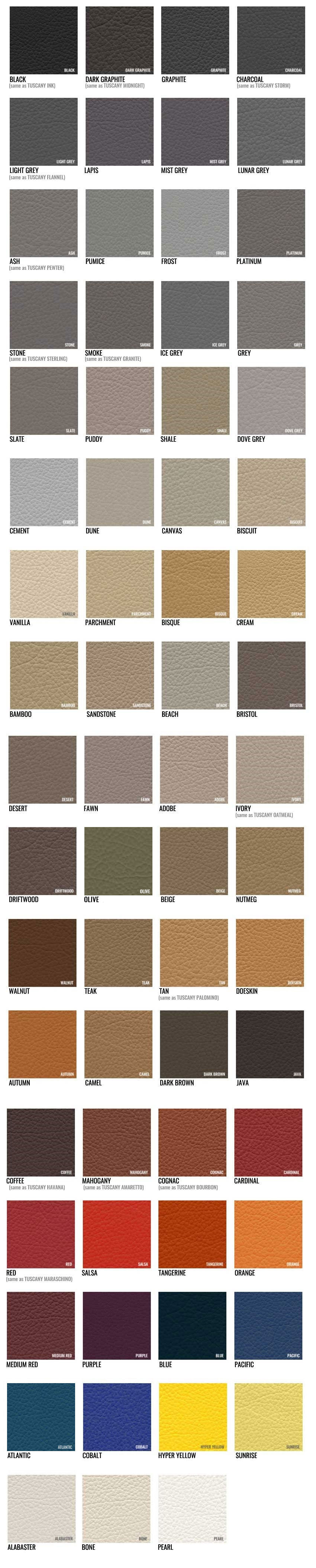 Katzkin Color  Samples - Get the perfect color for your auto upholstery upgrade