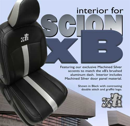 Scion Xb Katzkin Leather Seat Upholstery Kit Shopsar Com