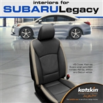 Subaru Legacy Katzkin Leather Seat Upholstery Kit