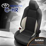 Toyota C-HR Katzkin Leather Seat Upholstery Covers