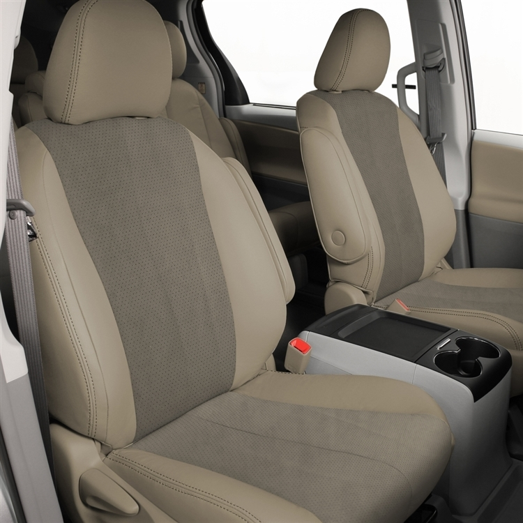 Toyota sienna katzkin leather seat upholstery kit shopsar toyota sienna custom leather interior solutioingenieria Image collections