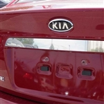 Kia Forte Chrome License Bar Trim, 2010, 2011, 2012, 2013