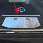 Toyota Prius C Chrome License Bar Trim, 2012, 2013, 2014, 2015, 2016, 2017, 2018, 2019