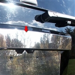GMC Yukon Chrome License Bar Trim, 2007, 2008, 2009, 2010, 2011, 2012, 2013, 2014