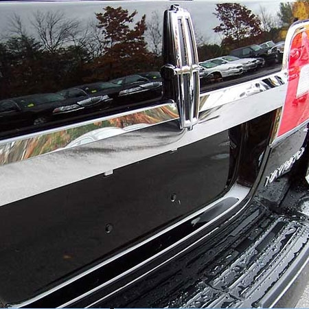 Lincoln Navigator Chrome License Bar Trim 2007 2008
