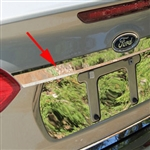 Ford Focus Sedan Chrome License Bar Trim, 2015, 2016, 2017, 2018