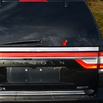 Lincoln Navigator License Bar Trim, 2015, 2016, 2017