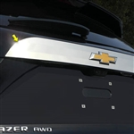 Chevrolet Blazer Chrome License Bar Trim, 2019, 2020