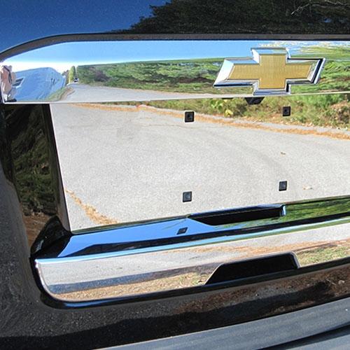 Chevrolet Suburban Chrome Tailgate Hatch Cover, 2015, 2016, 2017, 2018,  2019, 2020 | ShopSAR com