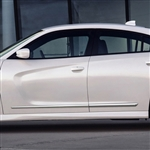 Dodge Charger Chrome Lower Door Moldings, 2015, 2016, 2017, 2018, 2019