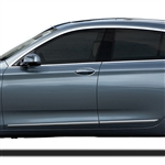 BMW 5-Series Gran Tourismo Chrome Lower Door Moldings, 2011, 2012, 2013, 2014, 2015, 2016, 2017