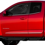GMC Canyon Chrome Lower Door Moldings, 2015, 2016, 2017, 2018, 2019, 2020