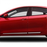 Dodge Dart Chrome Lower Door Moldings, 2013, 2014, 2015, 2016