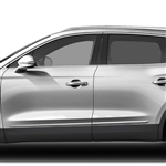 Lincoln MKX Chrome Lower Door Moldings, 2007, 2008, 2009, 2010, 2011, 2012, 2013, 2014, 2015