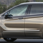 Buick Envision Chrome Lower Door Moldings, 2016, 2017, 2018, 2019, 2020