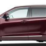 Toyota Highlander Chrome Lower Door Moldings, 2014, 2015, 2016, 2017, 2018, 2019