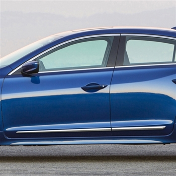 Acura ILX Chrome Lower Door Moldings 2013 2014 2015