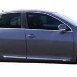 Volkswagen Jetta Chrome Lower Door Moldings, 2005, 2006, 2007, 2008, 2009, 2010