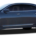 Lincoln MKS Chrome Lower Door Moldings, 2014, 2015, 2016, 2017