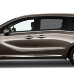 Honda Odyssey Chrome Lower Door Moldings, 2018, 2019, 2020