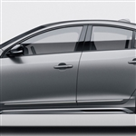 Volvo S60 Chrome Lower Door Moldings, 2010, 2011, 2012, 2013, 2014, 2015, 2016, 2017, 2018