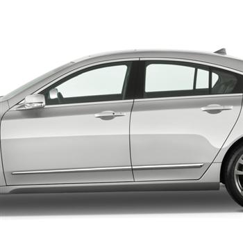 Acura Tl Chrome Lower Door Moldings 2009 2010 2011