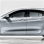Acura TLX Chrome Lower Door Moldings, 2015, 2016, 2017, 2018, 2019