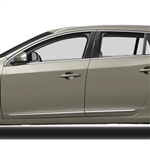 Volvo V60 Chrome Lower Door Moldings, 2010, 2011, 2012, 2013, 2014, 2015, 2016