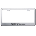 New Style Cadillac Chrome License Plate Frame