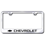 Chevrolet Premium Chrome License Plate Frame