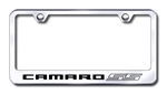 Chevrolet Camaro SS Premium Chrome License Plate Frame