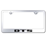 Cadillac DTS Chrome License Plate Frame