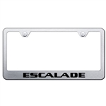 Cadillac Escalade Chrome License Plate Frame
